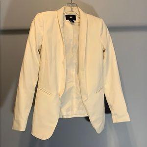 H&M White Blazer